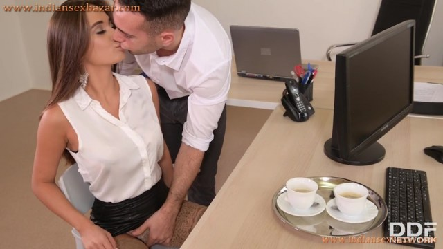 New Sexy Secretary Liya Silver Fucked In Office By Boss Full HD Porn Video And XXX Pictures 1