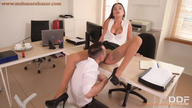New Sexy Secretary Liya Silver Fucked In Office By Boss Full HD Porn Video And XXX Pictures 11