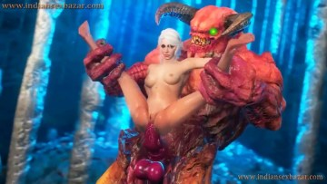 Big Monster Fucks Girl 3D Cartoon Animation Porn Video And Photo