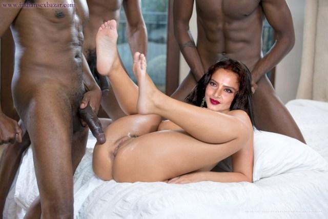 New And Latest Nangi Indian Hindi Film Actress Rekha Fucking BBC Photo XXX Porn Group Sex Picture Gallery (1)