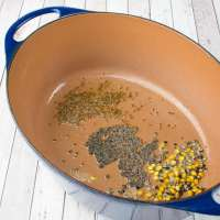 Saute Lemon Rice Ingredients