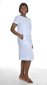 OCEAN BOATNECK DRESS R1095 LES TRO BABA SERPENT TAN SHOES R1599