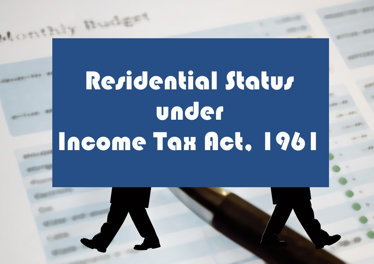 Residential status under inome tax act-min