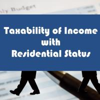 Taxation as per Residential Status in India