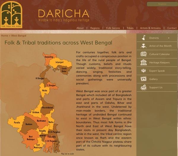 Bengali folk culture explained by the Daricha Foundation