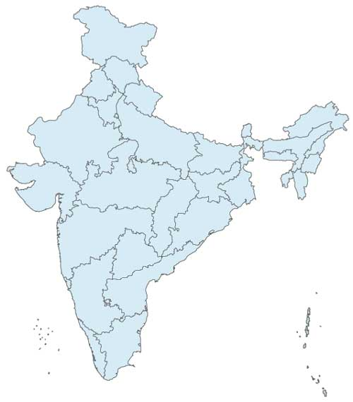 Maps | Government of India – Interactive State Map and ...