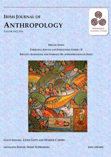 Irish Journal of Anthropology (cover) Vol 19(2) 2016 - visit the website: http://anthropologyireland.org/ija/