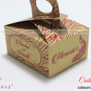 Rich Cake Box Handle Red and Gold (2)