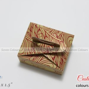 Rich Cake Box Handle Red and Gold (3)
