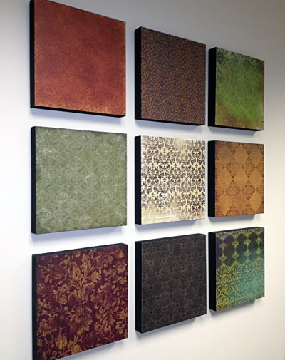 home decor, home design, DIY, scrapbook paper
