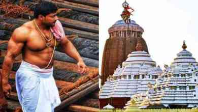 Photo of the bodyguard of Lord Jagannath, Anil Gochikar Became Viral On Social Media, Totally Vegetarian