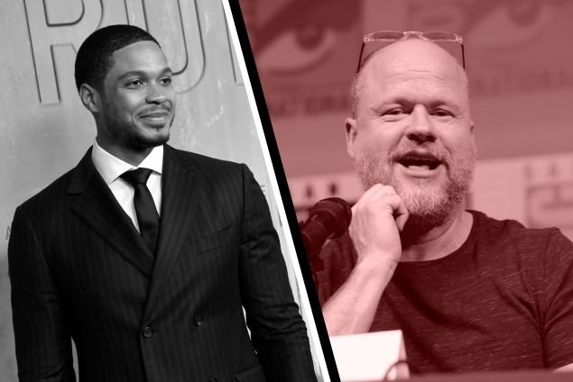 Ray Fisher and Joss Whedon
