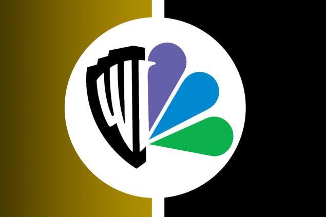 fake warner bros and nbc merger logo