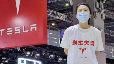 Photo of A Driverless Tesla Killed 2 in Crash, Woman Staged Protest in China