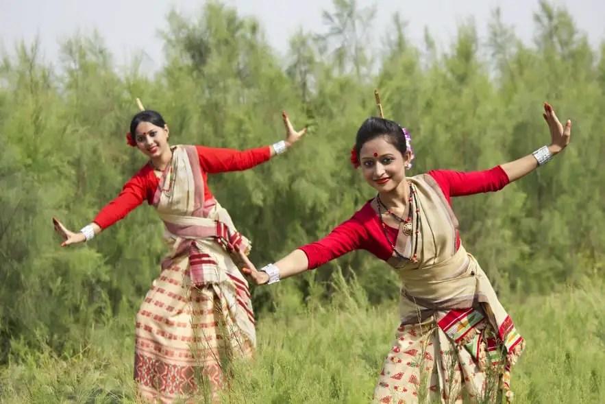 Mekhela - Traditional clothing in India