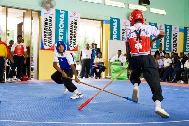 Silambam (stick fighting)