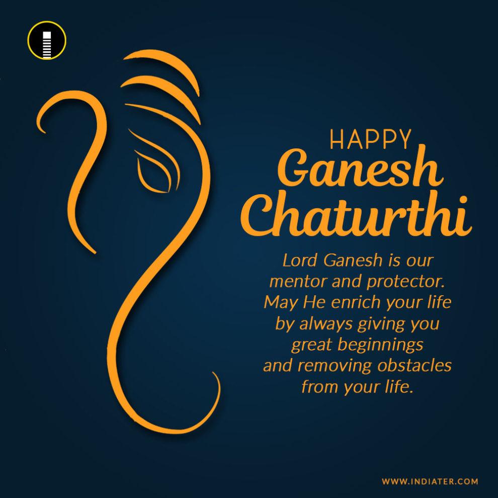 Image of: Motivational Happyganeshchaturthiimagephotowithnicequotes Luvze Happy Ganesh Chaturthi Image Photo With Nice Quotes Wishes Indiater