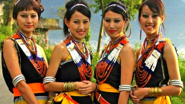 Nagaland Traditional Costumes, India tradition and culture