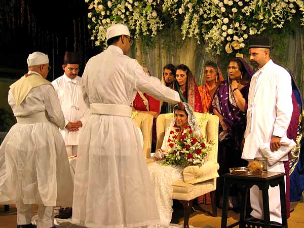 Parsis Wedding -ceremony