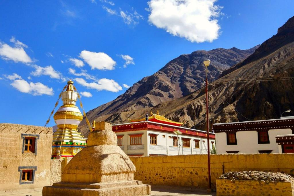 Tabo Monastery, Spiti Valley, Himachal Pradesh, India Tourism