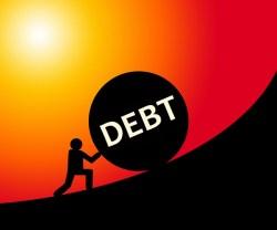 Image result for world in debt