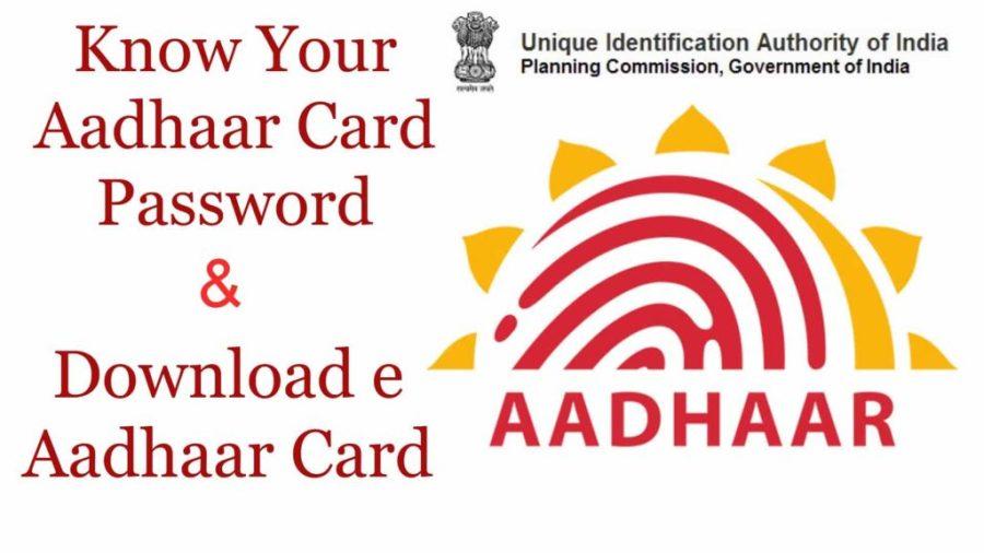How to Know Your Aadhaar Card Password
