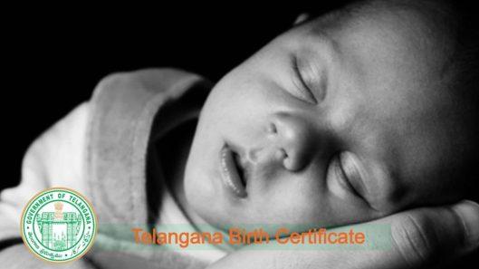 birth certificate telangana