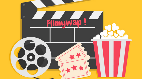 A picture of Camera reel some popcorn and Flimywap.