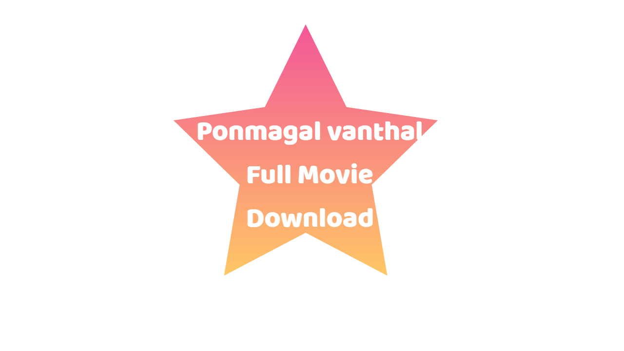 ponmagal vanthal full movie download in moviesda.com