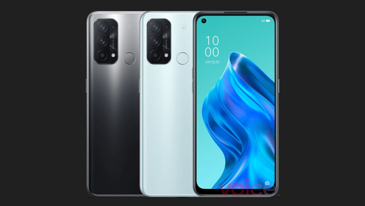 OPPO Reno5 A spotted at Google Play