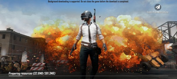 Battlegrounds Mobile India on playstore
