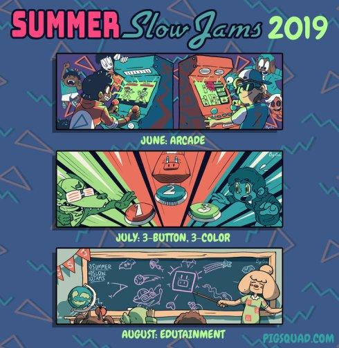PIGSquad Summer Slow Jams