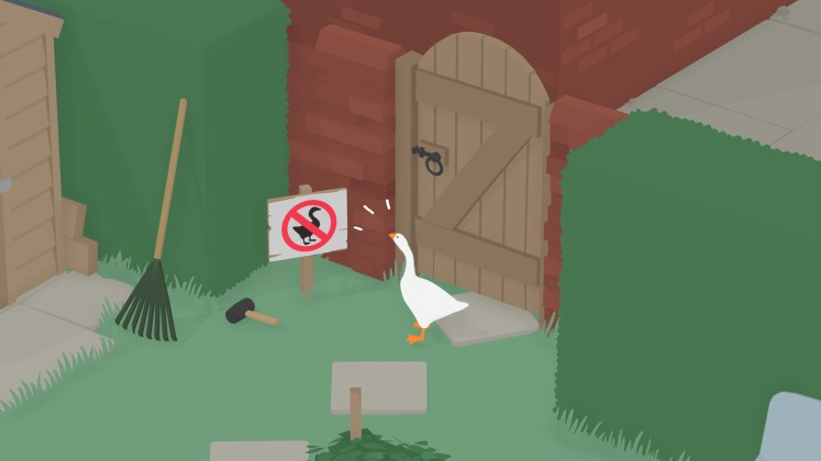 Untitled Goose Game Garden Screenshot