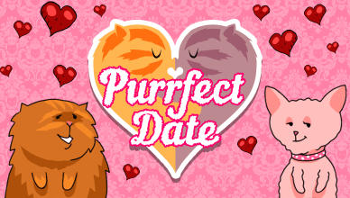 Purrfect Date Title