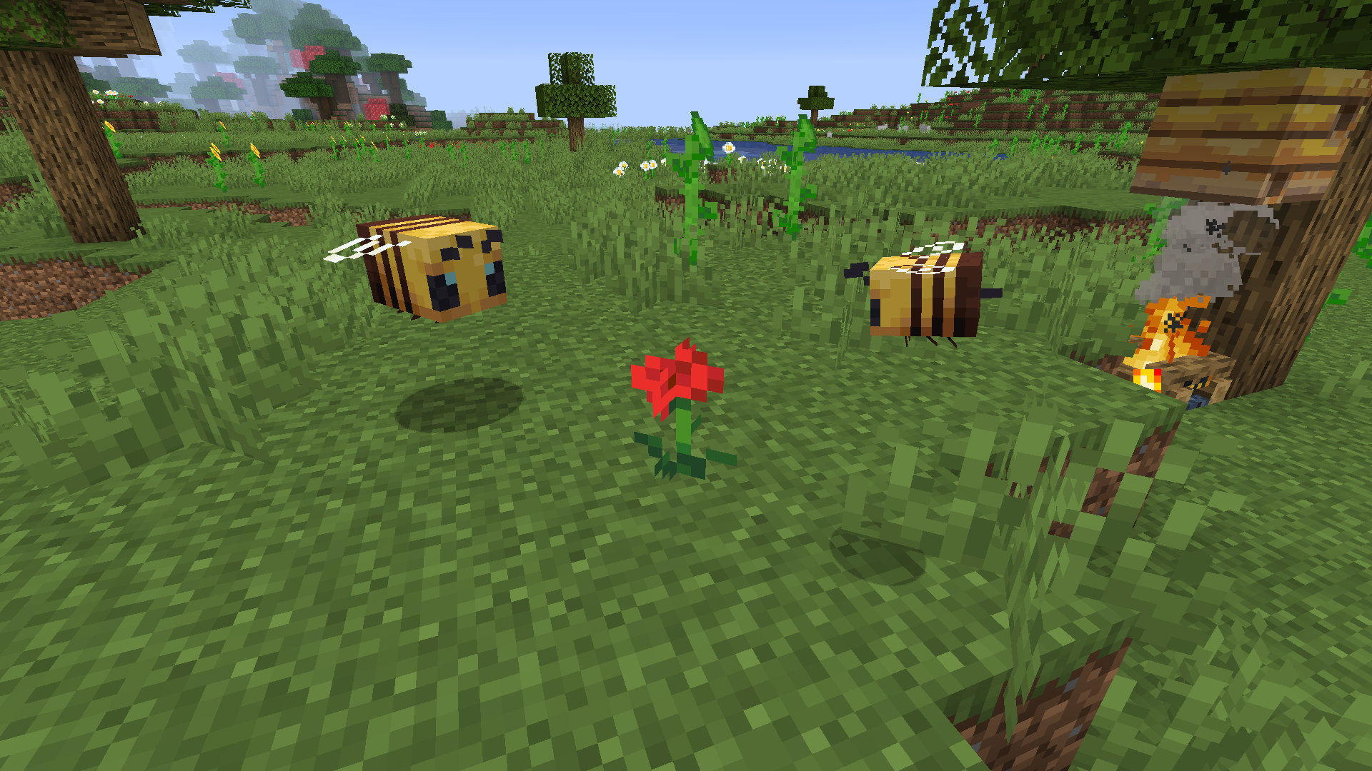 A Quick Busy Bee Look At Minecraft S Buzzy Bee Update