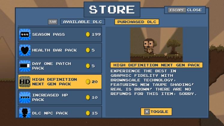 DLC Quest High Definition New Gen Pack