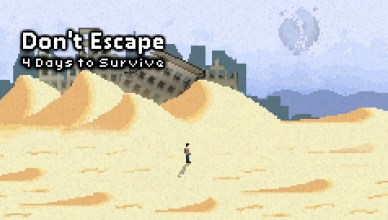 Don't Escape: 4 Days to Survive - Key Art