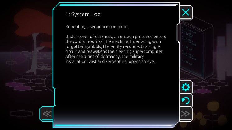 The Machine's Garden - System Log