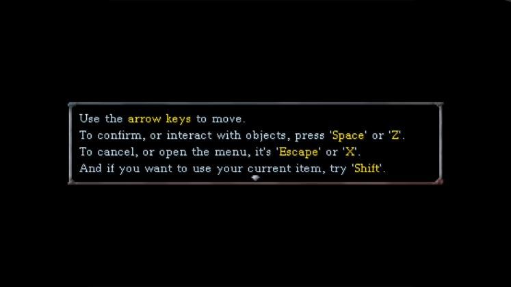 SHUT IN Screenshot - Controls