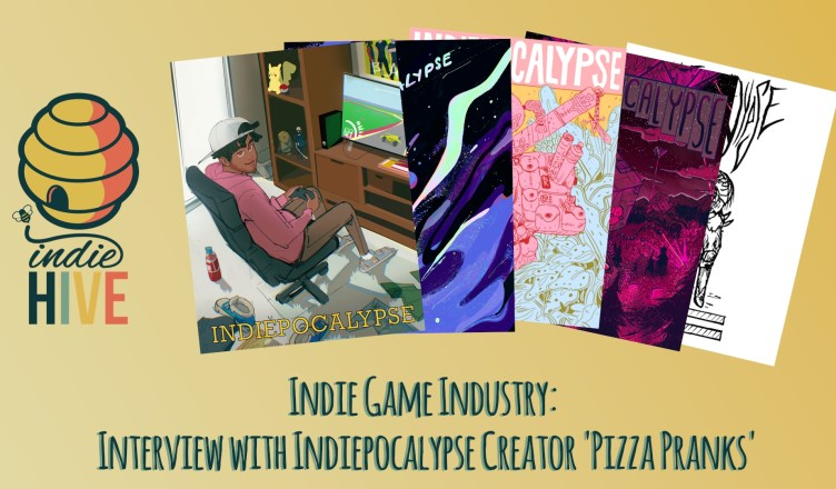 Indie Game Industry - Interview with Indiepocalypse Creator, Pizza Pranks