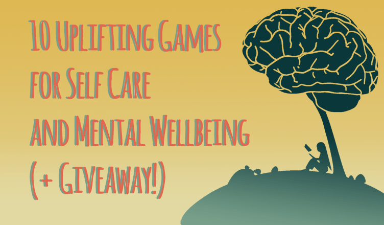 10 uplifting games for self care and mental wellbeing plus giveaway