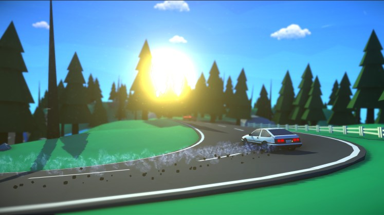 Five Free Short Games on itch.io - Jelly Drift