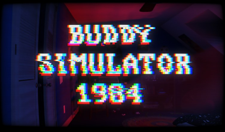 Buddy Simulator 1984 - Key Art