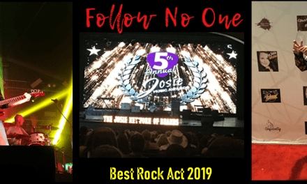 International Duo Channels Past And Present To Win Best Rock Act At World's Largest Indie Music Awards