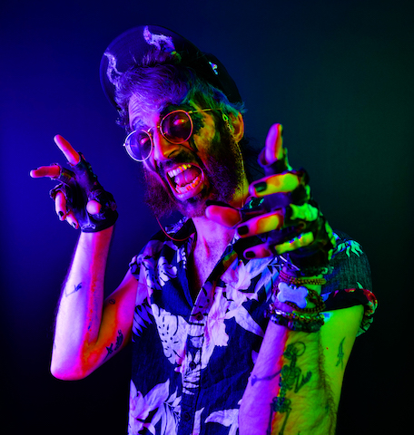 """LA """"Campfire Punk Singer-Songwriter"""" Creature Benny Releases Video For Single """"Rock And Roll (My Face Off)"""""""