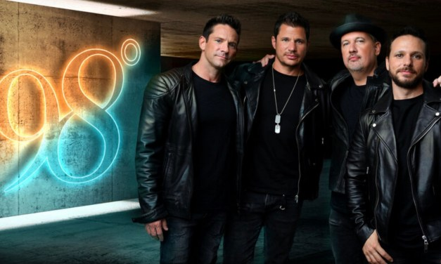 """Pop boy band icons 98 Degrees release new sun soaked pop single """"Where Do You Wanna Go"""""""