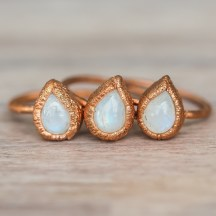 Moonstone_Tear_Drop_and_Copper_Ring_Bohemian_Gypsy_Jewels_Indie_and_Harper