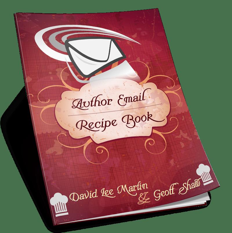 Author Email Recipe Book Affiliates