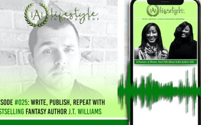 025: Write, Publish, Repeat with Bestselling Fantasy Author J.T. Williams
