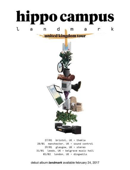 Hippo Campus tour dates